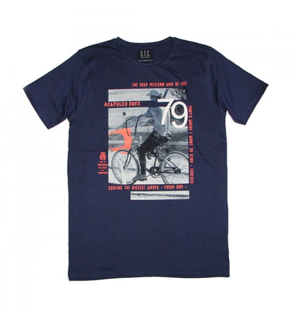 Older Boys Short Sleeve Printed T Shirt