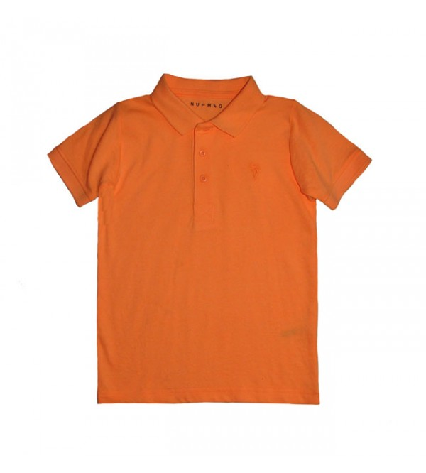 Boys Neon Polo T Shirts