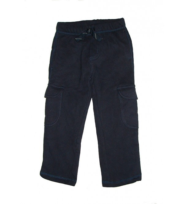 Boys Fleece Cargo Jogger Bottoms