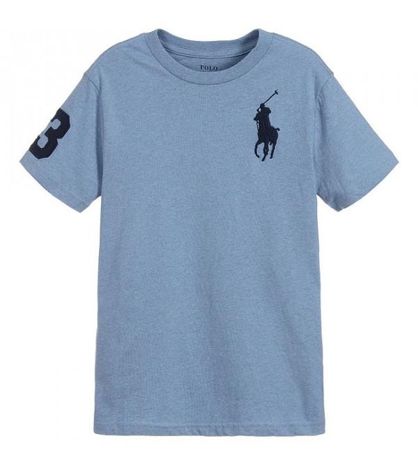 Polo Ralph Lauren Boy's Big Pony Cotton Tee