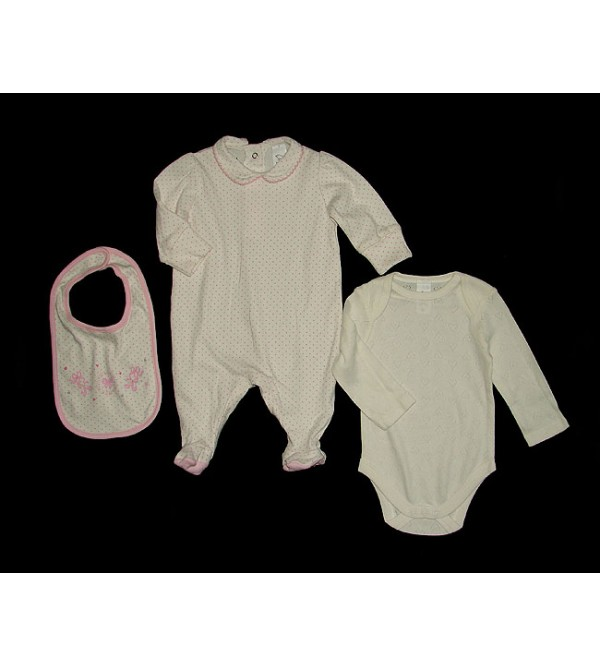 Baby Combo Packs Bodysuit Sleepsuit and Bib