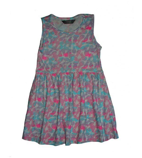 PRIMARK Girls Printed Knit Dress