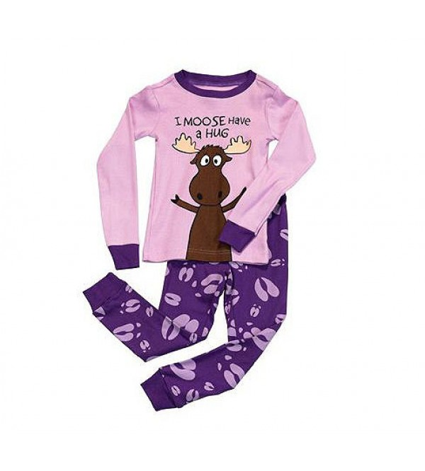 Girls Printed Snug Pyjama Set
