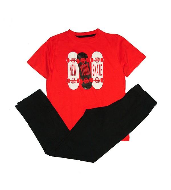 Older Boys Printed Pyjama Sets