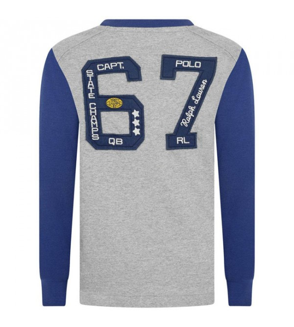 Older Boys Long Sleeve Printed T Shirt