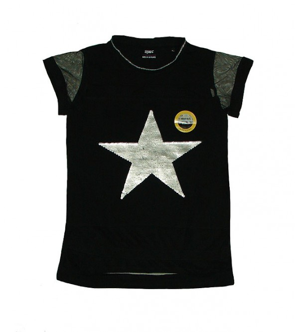 Star Girls Sequinned Top