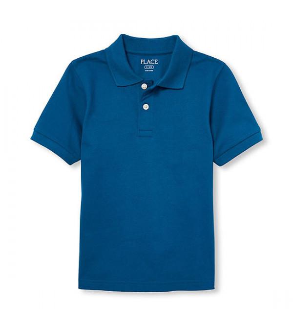 Boys Short Sleeve Polos