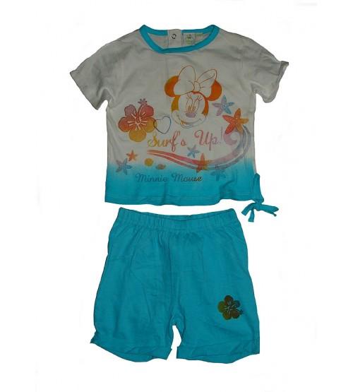 DiSNEY Baby Girls Printed Shorty Sets