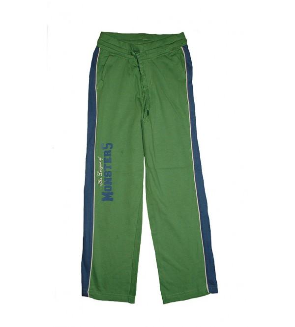 Boys Printed Knit Track Pants
