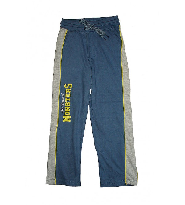 Boys Printed Knit Track Pants