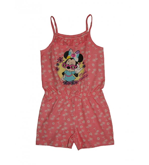 DiSNEY Girls Printed Strappy Dungaree