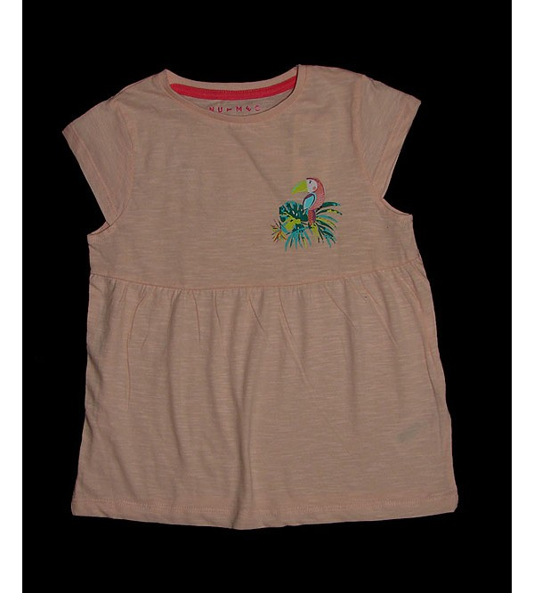 Girls Empire Waist Short Sleeve Tops