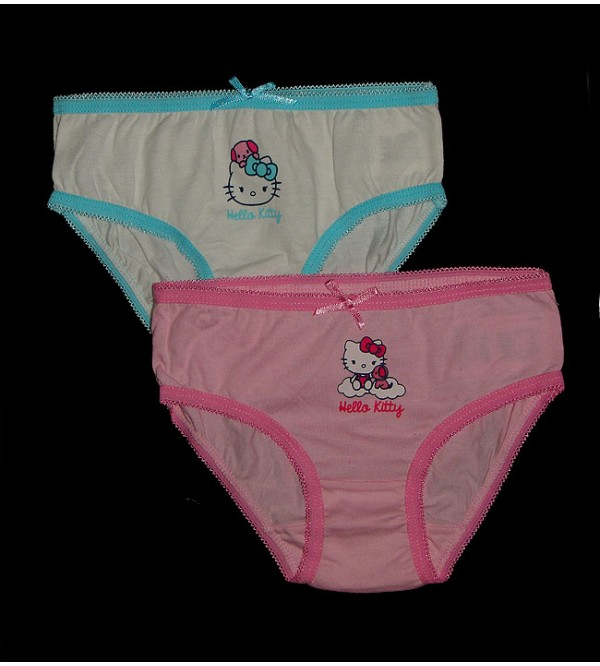 Hello Kitty Girls Printed Briefs