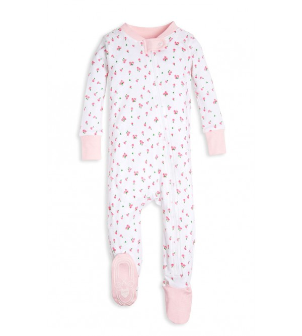 Baby Zip Up Footed Pajamas