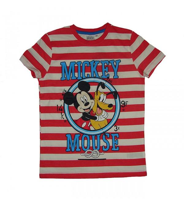 Character Printed Boys Short Sleeve T Shirt