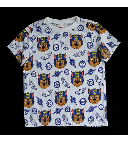 PAW PATROL Boys Short Sleeve Printed T Shirt
