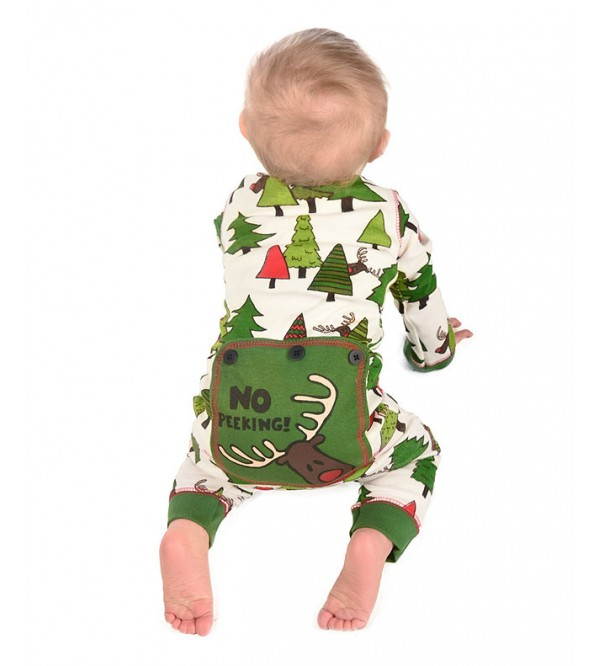 Lazy one Baby Boys and Girls  Printed Snug Fit Rompers