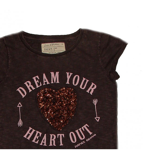 next Girls Sequinned Fancy Top