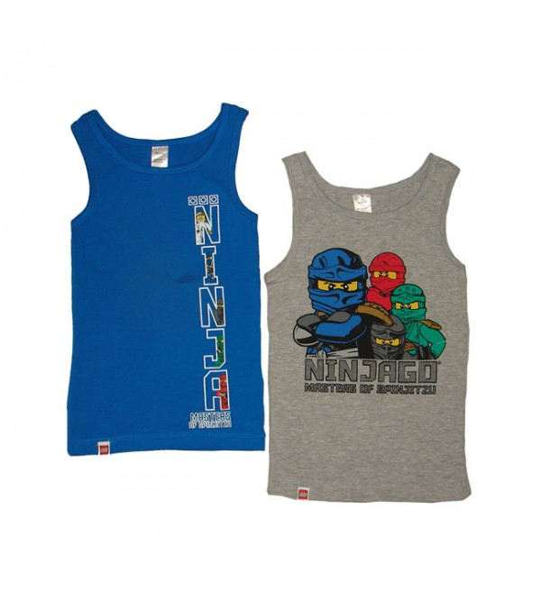 Lego Boys 2 pcs pack Sleeveless Stretch T Shirts