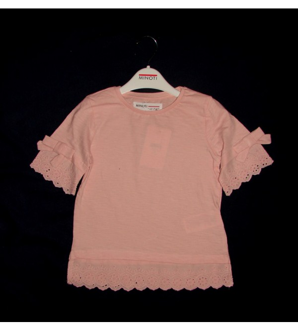 Girls Fancy Top With Frill Trims