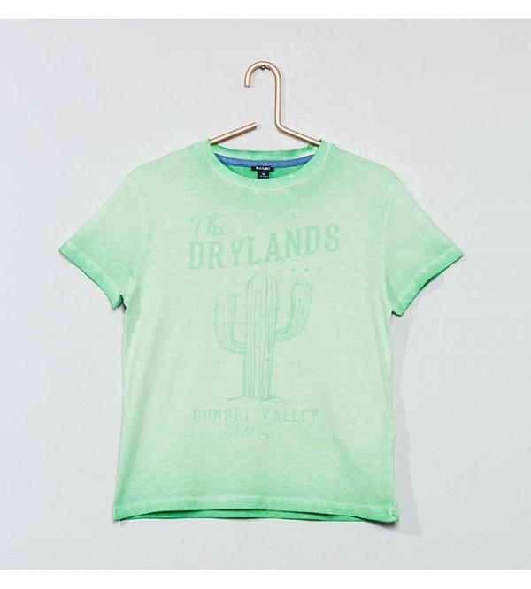 Boys Washed n Printed T Shirts
