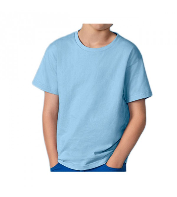 Boys Organic Cotton Crew Neck T Shirts