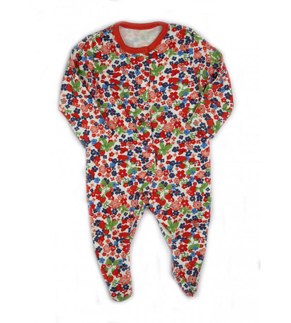 ' 3-6 Month ' Baby Printed Sleepsuits