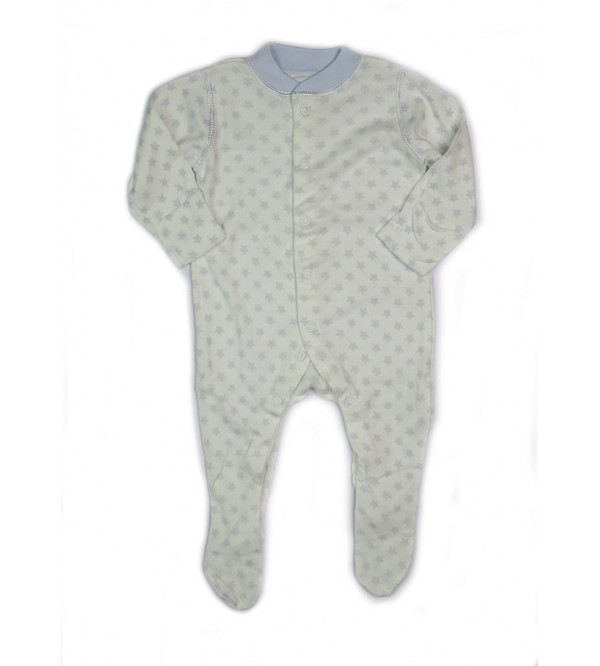 """"""" New Born """" Baby Printed Sleepsuits"""