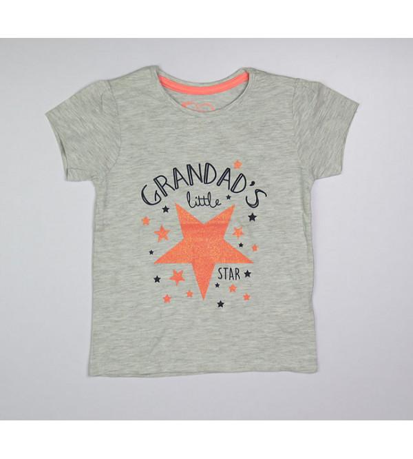 Baby Girls Glitter Printed Top
