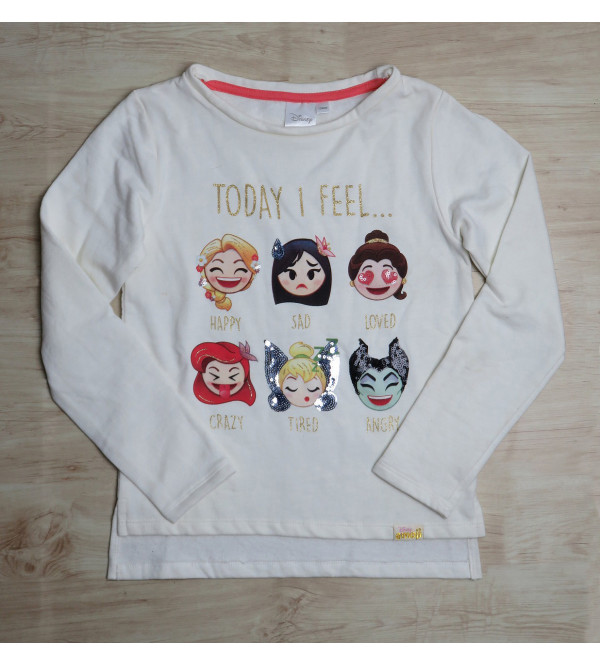 DiSNEY Girls Pullover Sweatshirt