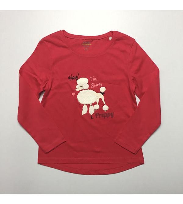 Shiny & Preppy Girls Printed T Shirt