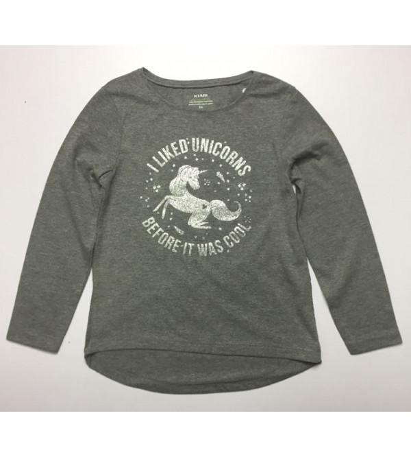 Unicorns Girls Printed T Shirt