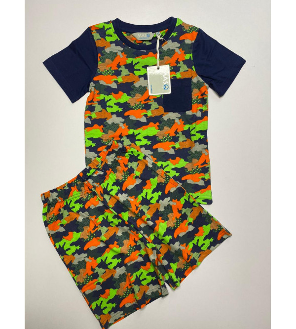 Kids Printed Shorty Pyjama Sets (Boys n Girls)