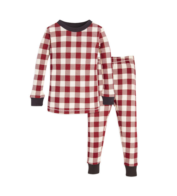 Buffalo Check Organic Boys Pyjamas