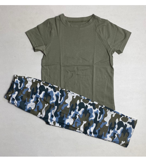 Boys Printed Pyjama Set Packaged