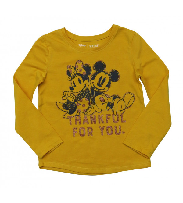 Minnie Mouse Girls Long sleeve T Shirt