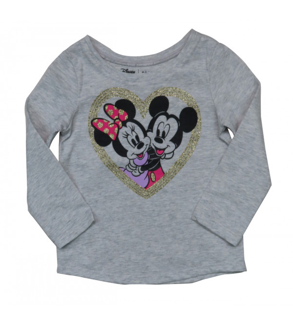 Minnie Mouse Girls Long sleeve Printed T Shirt