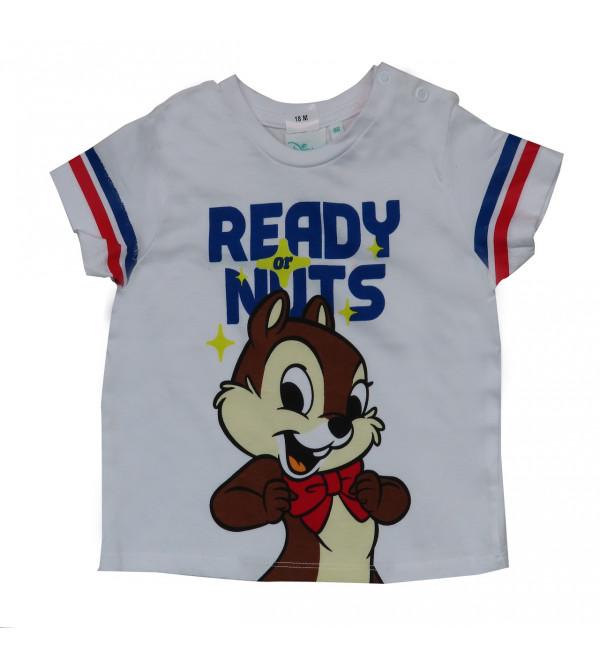 Character Printed Baby Boys T Shirt