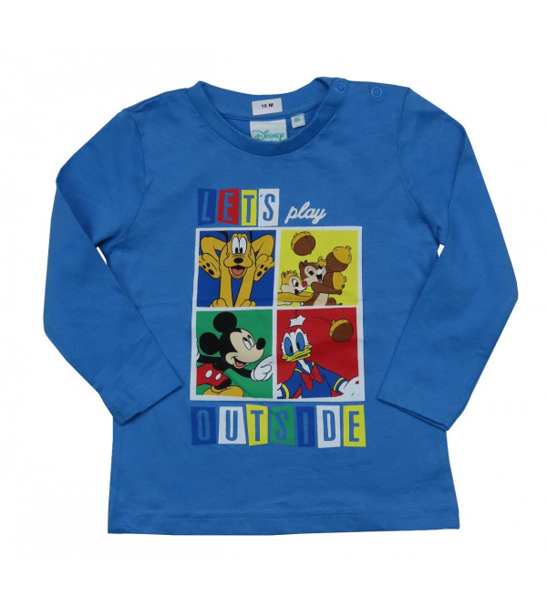 DiSNEY Baby Boys Printed  T Shirt