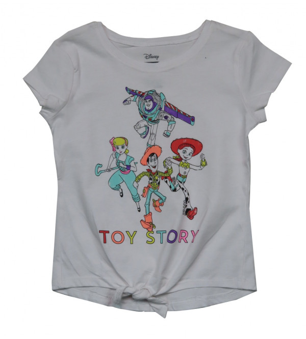 Toy Story Printed Girls T Shirt