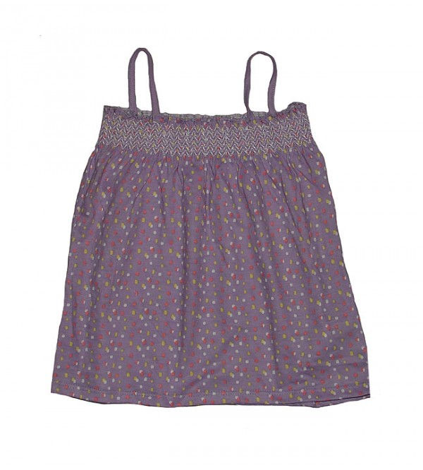 Baby Girls Smocked Strappy Tops