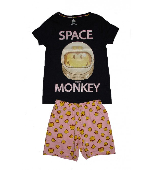 Sapce Monkey Girls Shorty Sets