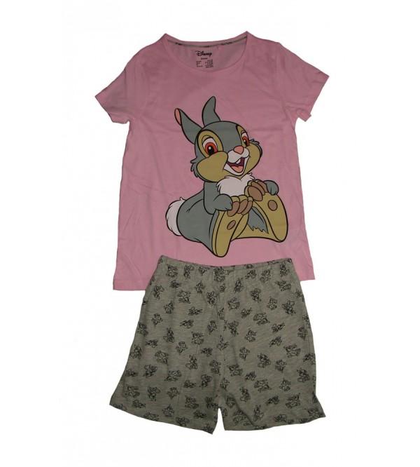 DiSNEY Girls Printed Shorty Pyjama Set