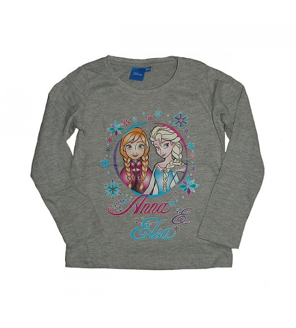 DiSNEY Girls Long Sleeve Printed T Shirt