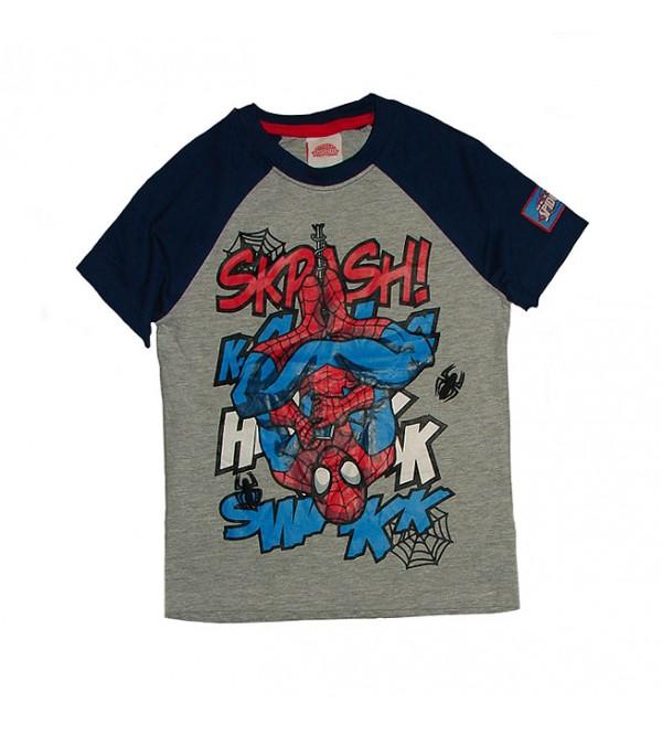 Spiderman Boys Raglan Sleeve T Shirt
