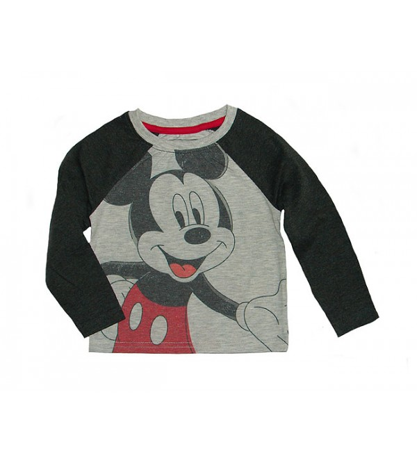 DiSNEY Baby Boys Long Sleeve Printed T Shirt