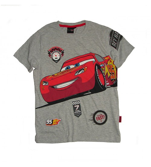 Cars Boys Printed T Shirt
