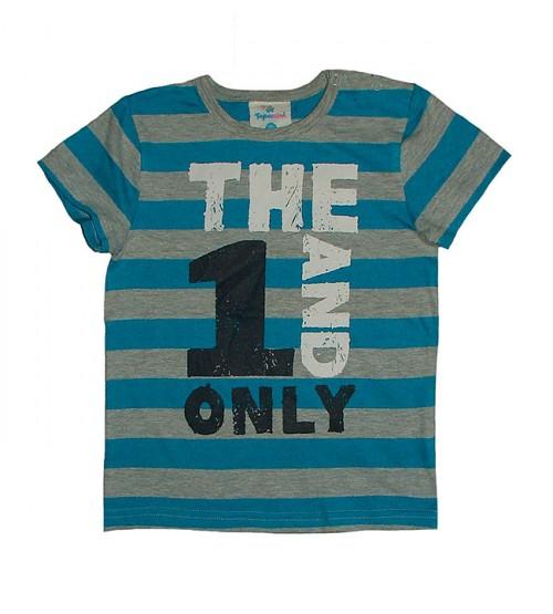 Baby Boys Short Sleeve Stiped T Shirt