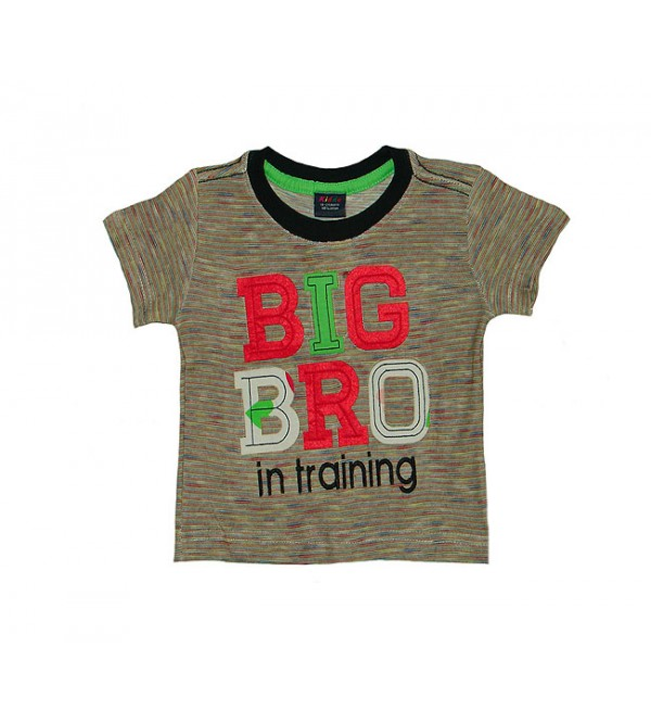 Baby Boys Short Sleeve Applique T Shirt