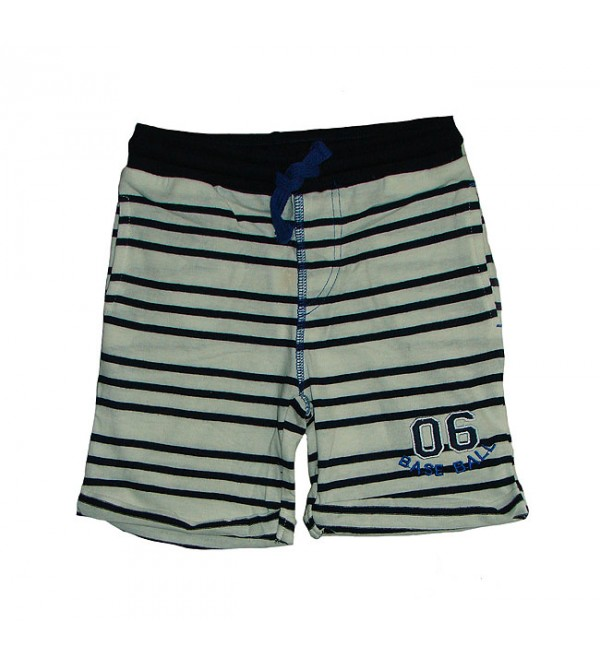 Baby Boys Striped Knit Shorts